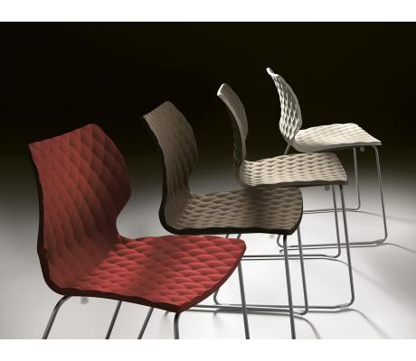Nová řada židlí UNI a křesel UNI-KA od značky METALMOBIL